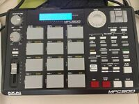 akai mpc 500/Portable sampler/Sequencer/Drum machine/ pad/Beat making/Music production/Hip hop