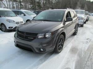 2017 Dodge Journey SXT DVD Blacktop 7 Passenger