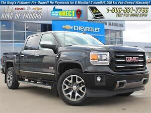 2015 GMC Sierra 1500 SLT Leather   One Owner   PST Paid