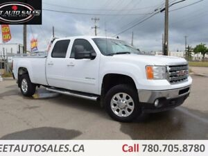 2012 GMC Sierra 3500HD SLT Crew Cab 4X4 8ft Long Box Leather, 6.