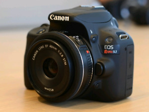 Canon SL1 with Canon 40mm lens