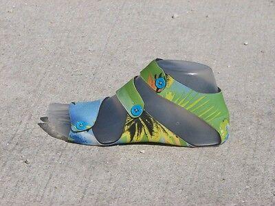 BareFoot Feet  Sandals - BFFI Aloha Green - Size 10