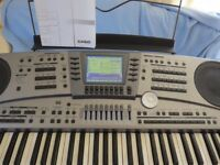 Casio MZ2000 Keyboard and Stand