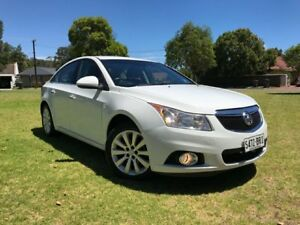 2013 Holden Cruze JH Series II MY13 CDX White 6 Speed Sports Automatic Sedan Somerton Park Holdfast Bay Preview