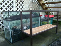 90, 30, and 10 Gallon Fish Tanks for Sale with accessories!