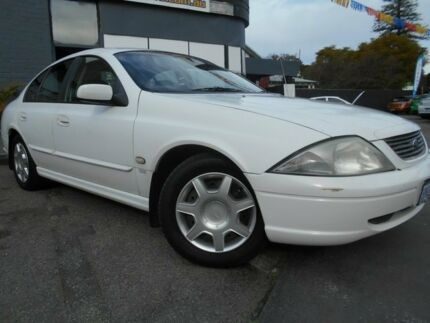 2002 Ford Falcon AU III Forte 4 Speed Sedan Mount Hawthorn Vincent Area Preview