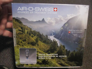 Air-O-Swiss 7146 Travel Humidifier - New, Open Box - $29.00