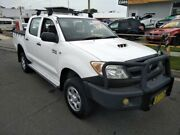 2008 Toyota Hilux KUN26R 07 Upgrade SR (4x4) White 5 Speed Manual Dual Cab Pick-up Sutherland Sutherland Area Preview