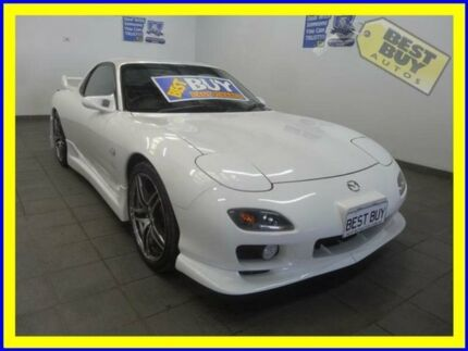 2001 Mazda RX7 FD RB White 5 Speed Manual Coupe Lansvale Liverpool Area Preview