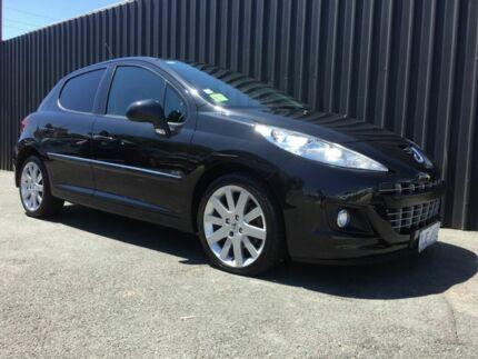 2012 Peugeot 207 Sportium S.e. Black 4 Speed Automatic Hatchback Phillip Woden Valley Preview