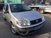 Fiat Punto 2005, starts and drives well, MOT until 30th May, has a dent on the wing, hence price, ca