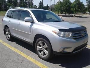 2012 Toyota Highlander AWD, Limited, NAVIGATION, NO ACCIDENTS