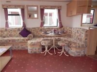EXCELLENT STATIC CARAVAN FOR SALE WHITLEY BAY HOLIDAY PARK SITE FEES INCLUDED UNTIL 2019