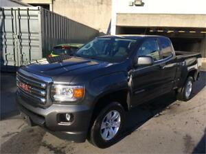 2016 GMC Canyon 4WD SLE extended cab NAVIGATION SLE grey