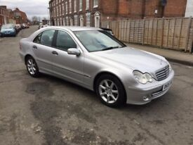 mercedes benz c 220 cdi 2 owners full 12 months mot
