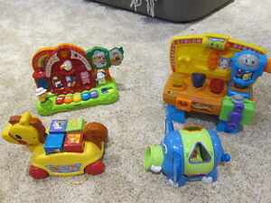 Fisher Price and Vtech electronic toys