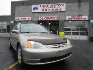 2003 Honda Civic Sdn LX, auto windows and locks!