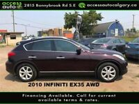 2010 Infiniti EX35 AWD Sunroof, leather, Blow Out Price Calgary Alberta Preview