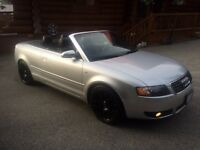 2005 Audi S4 Coupe Convertible Convertible