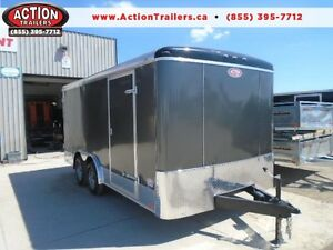 2017 ATLAS CONTRACTORS 8X16 TRAILER - OUR PRICE WONT BE BEAT! London Ontario image 1