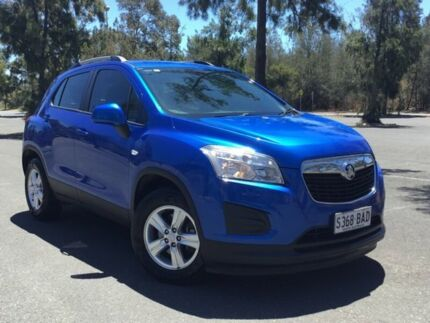 2013 Holden Trax TJ MY14 LS Blue 5 Speed Manual Wagon Mile End South West Torrens Area Preview