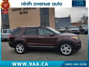 2012 Ford Explorer Limited 4dr 4x4, Leather, Sunroof, Heated sea