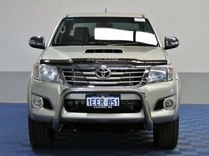 2013 Toyota Hilux KUN26R MY14 SR5 (4x4) Gold 5 Speed Automatic Dual Cab Pick-up Jandakot Cockburn Area Preview