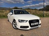 AUDI A4 S-LINE 2.0 TDI AUTO 2013 *LOW MILES, CLEAN CAR, FSH, NEW MOT*