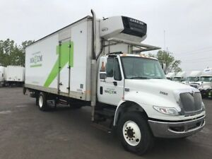 2014 International 4400 SBA 4X2, Used Reefer Van