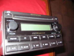 radio  Hyundai de  2007 vas très bien