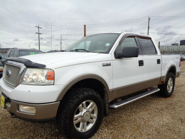 2004 Ford F150 Lariat >> 2004 Ford F150 Lariat Crewcab 4x4 Leather Sunroof 5 4l V8 Cars Trucks Edmonton Kijiji