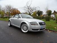 "Audi TT 1.8 T Roadster Quattro 2dr 2000 (X reg),Convertible,18"" BBS ALLOY WHEELS"