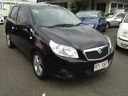 2010 Holden Barina TK MY10 Black Automatic Hatchback Greenslopes Brisbane South West Preview
