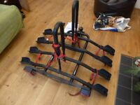 Bike Rack - 4 Bikes - Towbar Mounted - 60Kg limit
