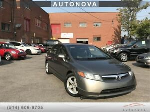 ***2007 HONDA CIVIC LX***AUTO/A.C/MAGS/SUNROOF/514-812-9994