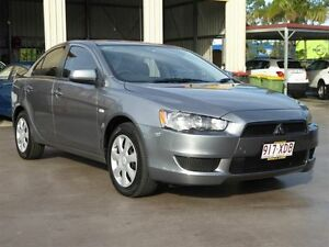 2013 Mitsubishi Lancer CJ MY14 ES Grey 6 Speed CVT Auto Sequential Sedan Strathpine Pine Rivers Area Preview