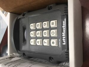 liftmaster wireless keypad/gate opener