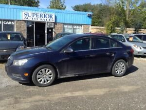 2011 Chevrolet Cruze LT Turbo Fully Certified! No accidents!