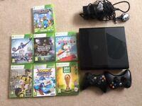 Xbox360 console plus games