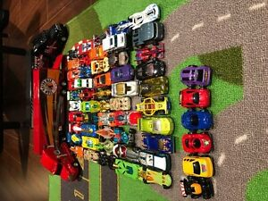 Lot of Hot Wheels and Transports