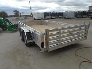 $90 MONTHLY FOR OUR 2016 ALUMINUM 14' TANDEM AXLE TRAILER London Ontario image 4