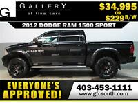 2012 DODGE RAM 1500 LIFTED *EVERYONE APPROVED* $0 DOWN $229/BW