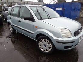 2004 53 reg ford fusion 2 1.4 TDCi MOT'd Til Dec 17 ,74,000 Miles good wee car £850 taxed 1 year