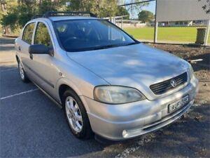 2005 Holden Astra TS MY05 Classic Equipe Silver 5 Speed Manual Sedan Granville Parramatta Area Preview