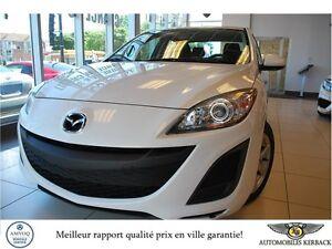 2013 Mazda Mazda3 GX A/C $29/SEMAINE Garantie 2018