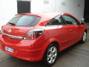 2006 Holden Astra AH MY07 CDX Real Red 4 Speed Automatic Coupe