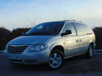 CHRYSLER GRAND VOYAGER 2.8 CRD EXECUTIVE XS 5d AUTOMATIC 7 SEATER (silver) 2008