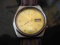 MENS VINTAGE SEIKO 21JEWELS AUTOMATIC WATCH 1970S