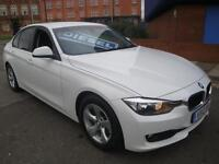 12 BMW 320D 163 BHP EFFICIENTDYNAMICS 4 DOOR DIESEL £20 A YEAR ROAD TAX