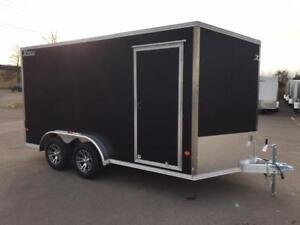 NEW 2018 XPRESS 7.5 x 14' ALUMINUM ENCLOSED TRAILER